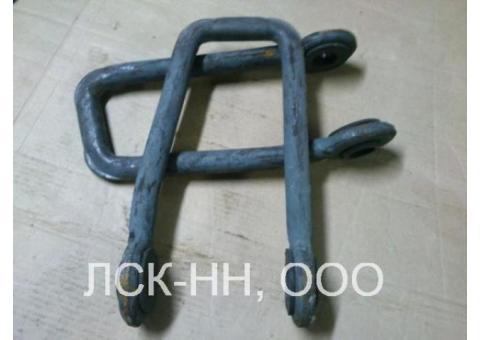 Перемычка дроссельная ДМС 120х4-4200 (НФТХ.2.30.004.004.000-05)